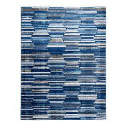 Alfombra Frise Carved Florida D5 80x120 Blue