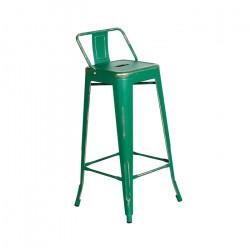 Silla High Vintage Verde Turquesa