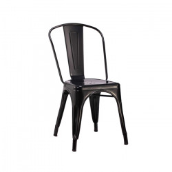 Silla Antique Negra