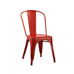 Silla Antique Roja